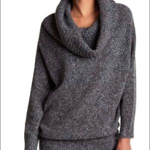 Joie woman's cowl neck wool blend sweater